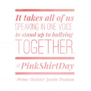 Pink Shirt Day 2016