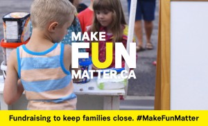 How you can #MakeFunMatter for children and families