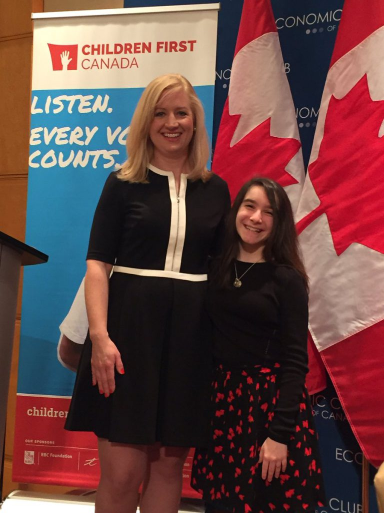 Children First Canada – now is the time.