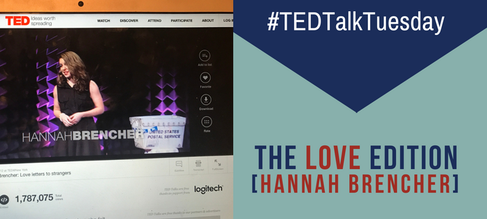 #TEDTalkTuesday, The Love Edition.